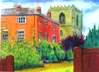 14  Bill Crouch  Cradley Old Rectory & Church  Pastel