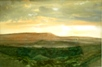 51 - Evening over Hay Bluff - Wc Pencils - Mary Vivian.JPG