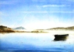 67  Mary Vivian  Scottish Loch Early Morning  Watercolour