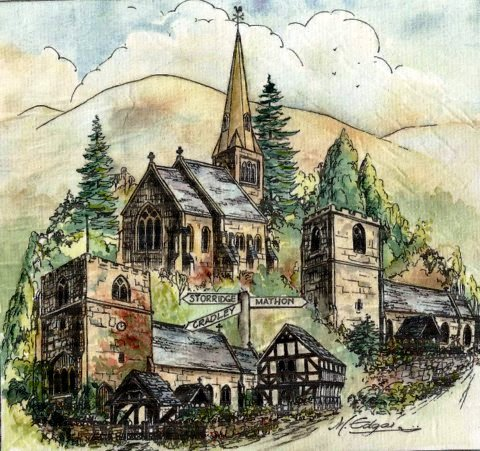 Storridge, Cradley and Mathon Churches by M. Edgar